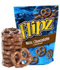 Preclíky v čokoládě Flipz