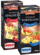 Těstoviny Premium s omáčkou Combino