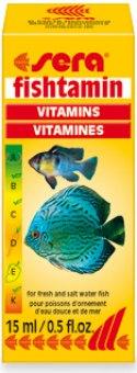 Doplněk stravy pro ryby Fishtamin Sera