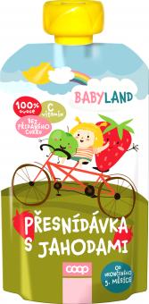 Přesnídávka ovocná kapsička Babyland