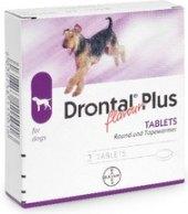 Prevence antiparazitní pro psy Drontal Plus Bayer