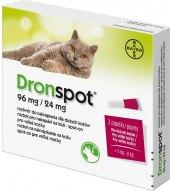 Prevence pro kočky antiparazitní Dronspot Spot on Advantage