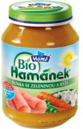 Příkrm masozeleninový Bio Hamánek