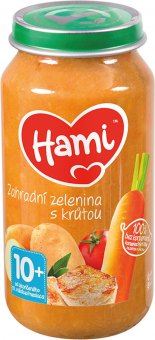 Příkrm masozeleninový Hami
