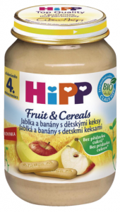 Příkrmy Bio HiPP
