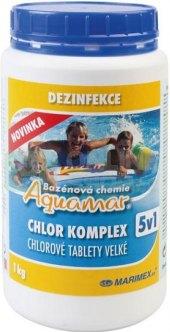 Přípravek do bazénu Chlor komplex Aquamar