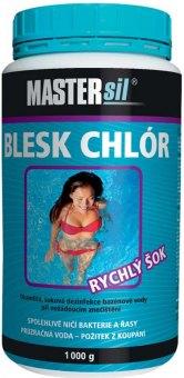 Přípravek do bazénu Blesk Chlór Mastersil