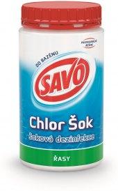 Přípravek do bazénu tablety Chlor Šok Savo