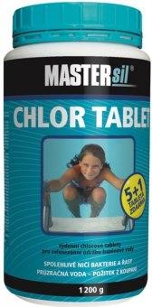 Přípravek do bazénu Chlór tablety Mastersil