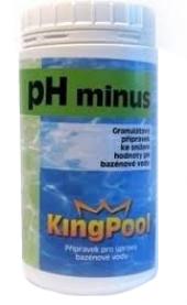 Přípravek do bazénu pH minus Kingpool