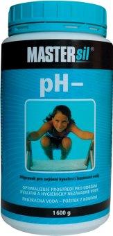 Přípravek do bazénu pH minus Mastersil