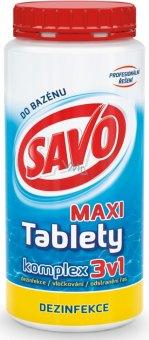 Přípravek do bazénu tablety Komplex 3v1 Savo