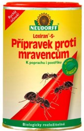 Přípravek proti mravencům Loxiran Neudorff