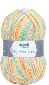 Příze na pletení Big Mamma print Gründl