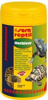 Krmivo pro suchozemské želvy a leguány Professional Herbivor Sera