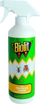 Přípravek proti lezoucímu hmyzu Biolit