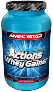Protein Gainer Actions Whey Aminostar