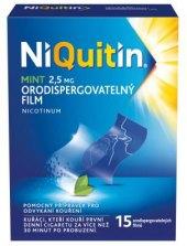 Proužky do úst nikotinové Mint NiQuitin
