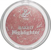 Pudr Baked Highlighter Rival de Loop Young