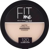 Pudr Fit me Matte+Poreless Maybelline