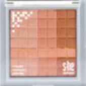 Pudr kompaktní mozaikový stylezone s.he