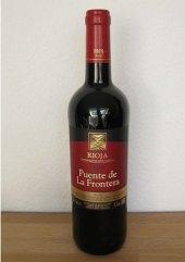 Víno červené Rioja Puente de La Frontera