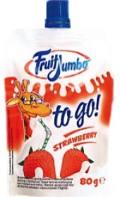 Nápoj pyré ovocné To Go Fruit Jumbo