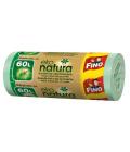 Pytle na odpadky eko natura 60l Fino