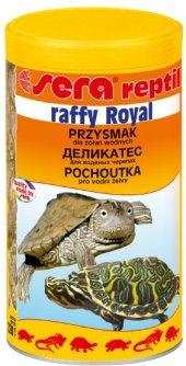 Krmivo pro želvy a obojživelníky Raffy Royal Sera