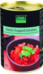 Rajčata loupaná Coop Premium