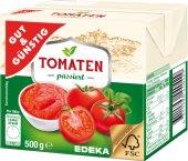 Pyré rajčatové Gut&Günstig Edeka