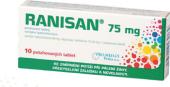 Tablety proti pálení žáhy Ranisan