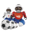 RC Robot s míčkem Made