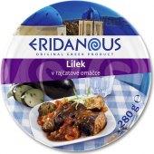 Řecká specialita lilek v rajčatové omáčce Eridanous