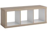 Dřevěný regál