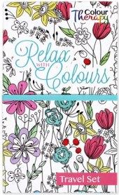 Relaxační omalovánky cestovní Colour Therapy