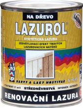 Renovační lazura na dřevo Lazurol