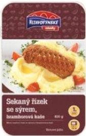 Řízek sekaný se sýrem a bramborovou kaší Vltavotýnské lahůdky