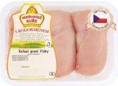 Kuřecí prsní řízky s rodokmenem Vodňanské kuře
