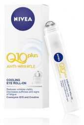 Roll-on oční proti vráskám Q10 Plus Nivea
