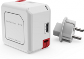 Rozbočovací zásuvka s USB PowerUSB Allocacoc