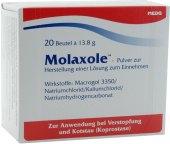 Rozpustný prášek proti zácpě Molaxole