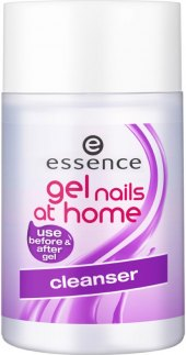 Roztok čisticí na nehty Essence Gel nails at home