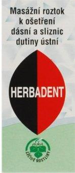 Přípravek na dásně Herbadent