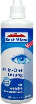Roztok na kontaktní čočky Best View