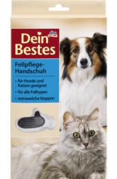 Rukavice na srst pro kočky a psy Dein Bestes