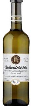 Víno Rulandské bílé Vinné sklepy Lechovice - pozdní sběr
