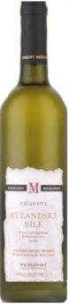 Víno Rulandské bílé Vinselekt Michlovský - kabinetní