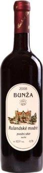 Víno Rulandské modré Vinařství Bzenec Bunža - pozdní sběr