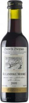 Víno Rulandské modré Znovín Znojmo - výběr z hroznů